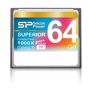 Silicon Power CF 64GB Superior 1000X