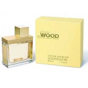 Dsquared SHE Wood Golden Light EDP 30 ml