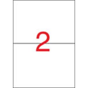 APLI 1 pályás etikett, 210 x 148 mm, eltávolítható, 200 etikett/csomag