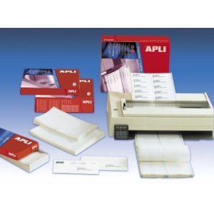 APLI 2 pályás mátrix etikett, 101,6 x 36 mm, 8000 etikett/csomag