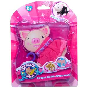 Ól-tári Röfi divat szett - rózsaszín
