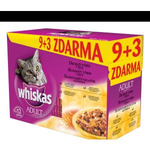Whiskas Szárnyas Válogatás 12 x 100 g