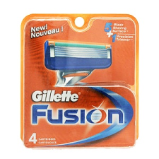 Gillette Fusion Borotvapenge 4 db férfi borotvapenge