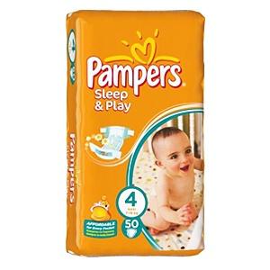 Pampers Sleep & Play 4 Pelenka 50 db
