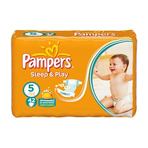 Pampers Sleep & Play 5 Pelenka 42 db