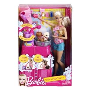 Barbie Kutyusfürdető