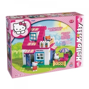 Hello Kitty Kis babaház építő