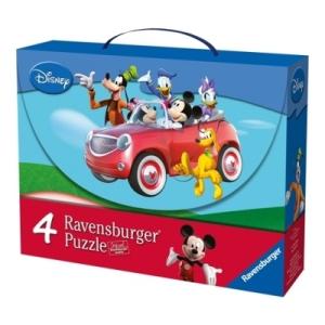 Ravensburger Disney Mikiegér puzzle, 4 az 1-ben