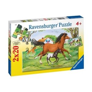 Ravensburger Lóvilág 2x20 db