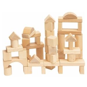 Maxi Fa építőkocka, 50 db