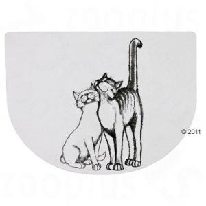 Trixie Ölelkező macska mintás tál alátét - 40 x 30 cm