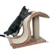Trixie kaparó állvány hullámos kaparó matraccal - kb. H 44 x Sz 25 x M 39 cm