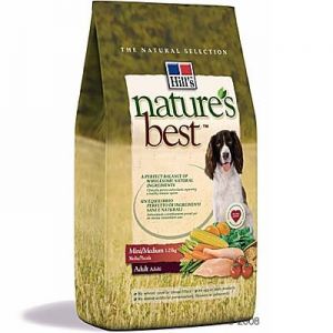Hill's Nature's Best Canine Adult Mini / Medium - 2 x 12 kg