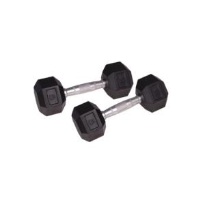 Insportline Hatszögű kézisúlyzó 5 kg