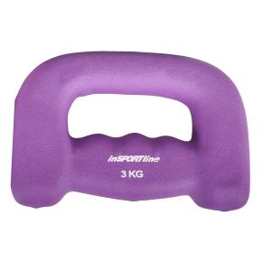 Insportline Neoprén egykezes súlyzó Jogging 3 kg