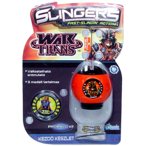 Basic Concepts Slingers - Hades piros céllövő kezdő készlet