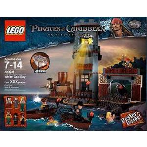 LEGO Karib-tenger kalózai - Tajtékos öböl 4194