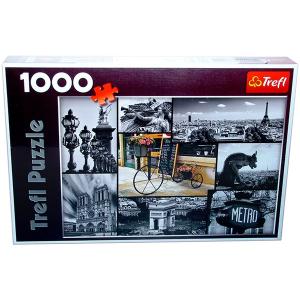 Trefl Párizs nevezetességei 1000 db-os puzzle