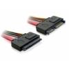 DELOCK SATA hosszabbító kábel 20cm