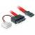 Kingston DELOCK SATA Slimline anya – 7 tűs SATA + 2 tűs hálózati átalakító kábel