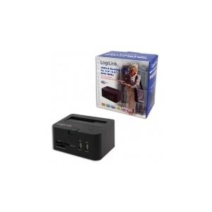 """LogiLink USB 2.0-ás dokkoló2.5""""/3.5""""-os SATA merevlemezekhez"""