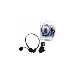 LogiLink USB 2.0-ás webkamera 6 leddel és fejhallgatóval