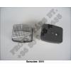 Helyzetjelző lámpa komplett vagy bura fehér LT110
