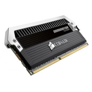 Corsair (CMD8GX3M2A1600C9) 8GB Kit (2x4GB) DDR3, 1600MHz, 9-9-9-24 DOMINATOR Platinum - 1.5V