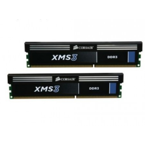 Corsair (CMX8GX3M2A1333C9) 8GB Kit (2x4GB) DDR3, 1333MHz, 9-9-9-24