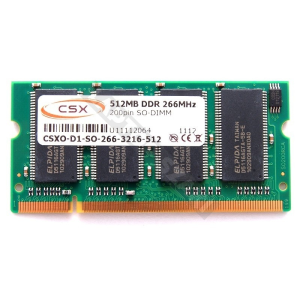 CSX 512MB DDR 266 Mhz NB