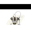 Perfect home rozsdamentes tálaló bogrács szett 3db-os tányér és evőeszköz