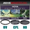 Digital Filter Kit UV,CPL,ND 58mm szűrőkkel