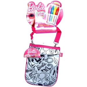 Color me Barbie színezhető parti táska