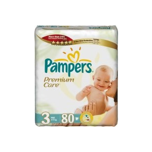 Pampers Premium Care 3 Midi – 80 db