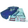 Reely 1:10 karosszéria, Mustang Hot Rod Reely 210114P4E Ersatzteil, 265 mm, Kék, 1:10