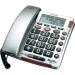 Conrad Asztali telefon kijelzővel és nagy gombokkal, Audioline BigTel 49 plus