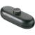 interBär 1 pólusú zsínórkapcsoló, 2 A 250 V/AC, fekete (fekete)
