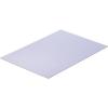 Modelcraft polisztirol lemez 330 x 230 x 2 mm, fehér