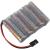 Conrad energy 6V / 1800mAh Side by Side kivitelű JR csatlakozóval ellátott vevő akkupack