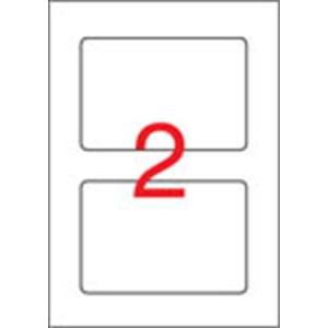 APLI 1 pályás laminált etikett, 150 x 100 mm, 20 etikett/csomag
