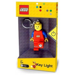 LEGO világító kulcstartó minifigura piros (LGL-KE1)