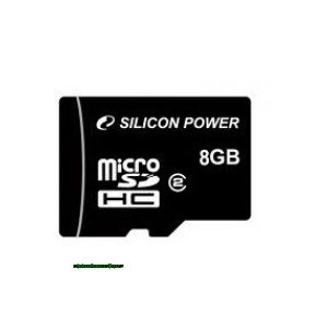 Silicon Power 8GB Micro Secure Digital Card CL4 Adapter nélkül