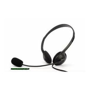 Modecom Logic LH-20 Headset Headset, 2.0, 3.5mm, Black