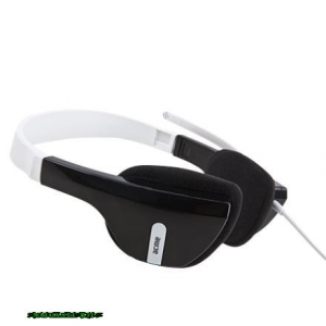 ACME HM-06 Headset Black/White Headset,2.0,3.5mm,Kábel:2,3m,32Ohm,20-20000Hz,Mikrofon,Black/White