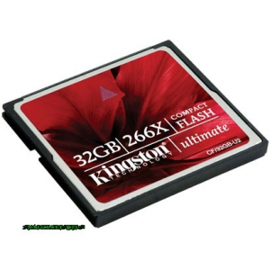 Kingston 32GB Compact Flash Ultimate 266x