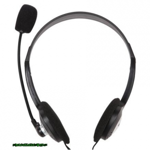 ACME CD-602 Headset Black Headset,2.0,3.5mm,Kábel:1,7m,32Ohm,20-20000Hz,Mikrofon,Black
