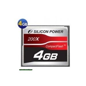 Silicon Power 4GB Compact Flash 200x