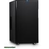 "FRACTAL Design Define Mini Black Black,2x5,25"",6x3,5"",microATX,3xUsb,Audio,Táp nélkül,210x395x490mm"