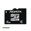A-Data 4GB MicroSDHC Adapter nélkül Class 4