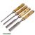 favéső készlet, CV. ; 4db, 6-12-20-25mm HRC56-62, kőrisfa nyél